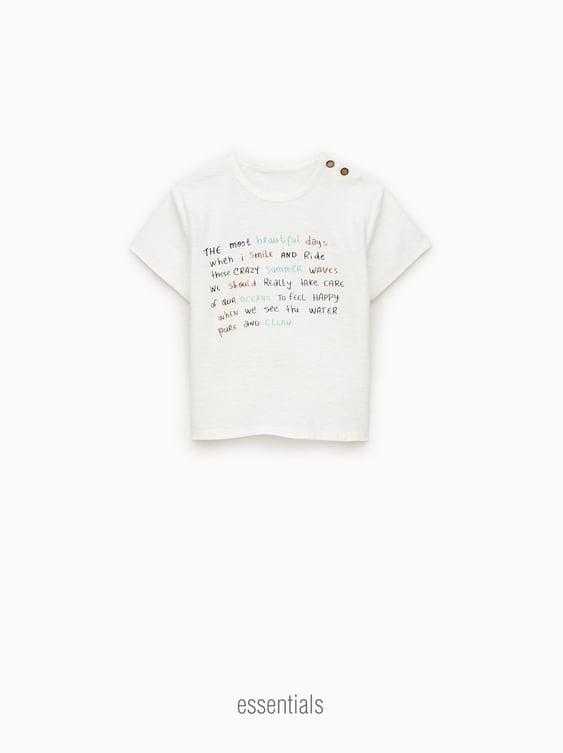c950870f Baby Boys' T-shirts   Online Sale   ZARA United States