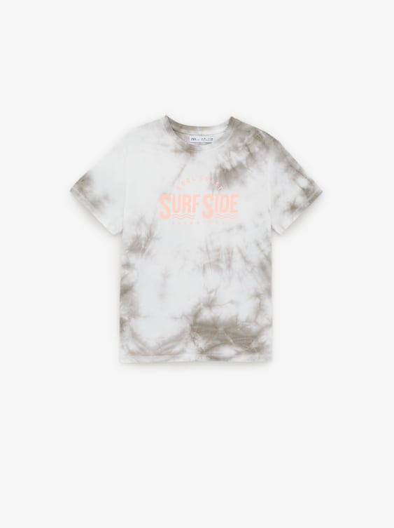 a085b4d58 TIE - DYE T-SHIRT WITH SLOGAN-SUN SUMMER FUN-SHOP BY COLLECTION-BOY ...