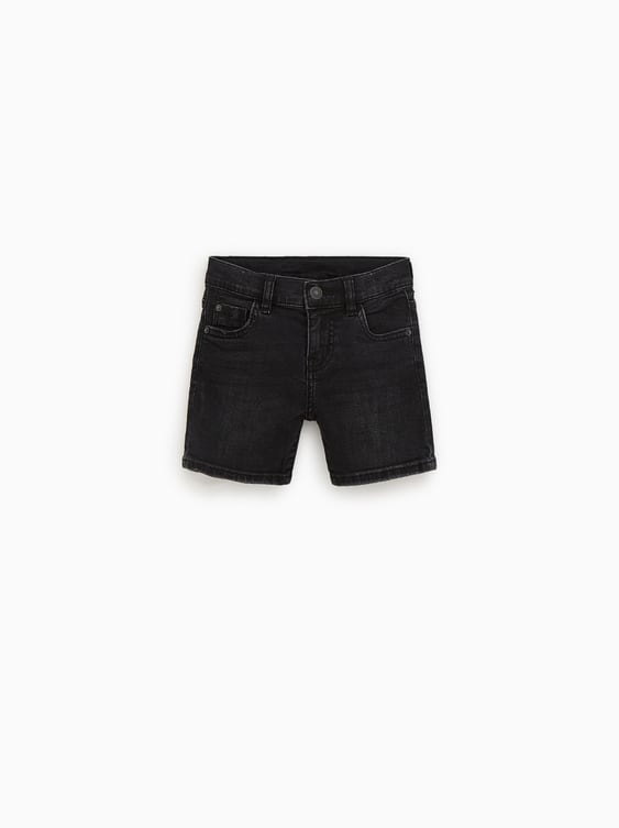 99e256da9f1 BASIC DENIM BERMUDA SHORTS