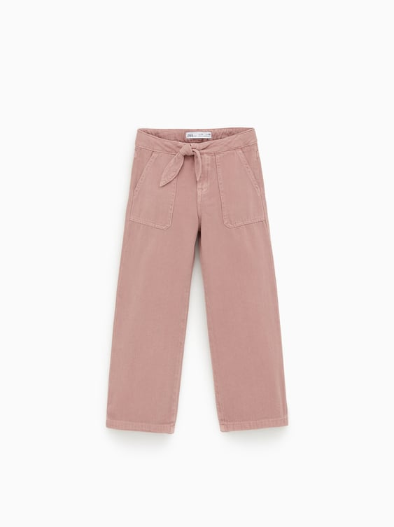 c7646dc5a5bb64 Girls' Pants | Online Sale | ZARA United States