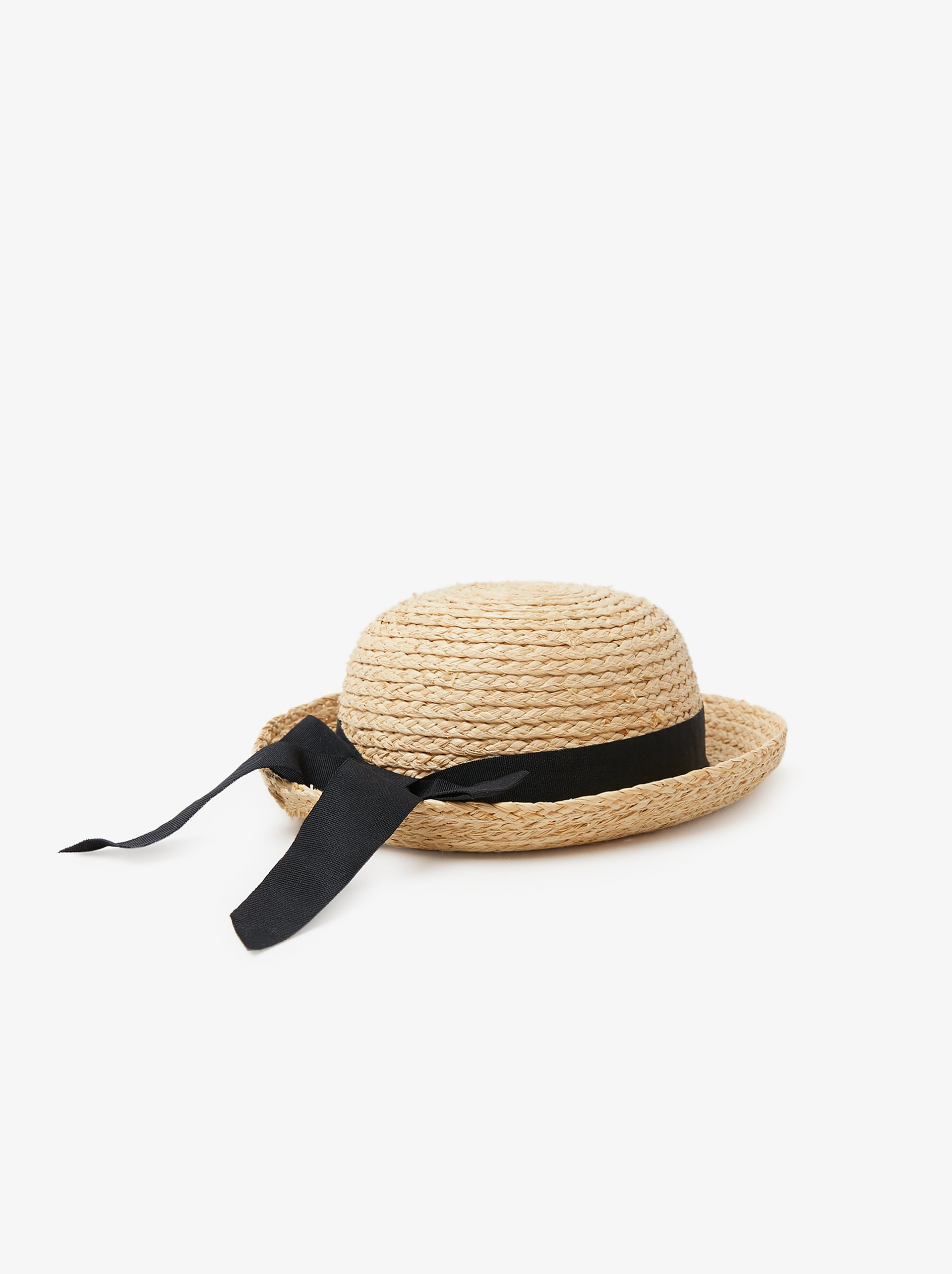 58c35048 STRAW HAT WITH RIBBON - Hats-BABY GIRL-ACCESSORIES-KIDS | ZARA ...