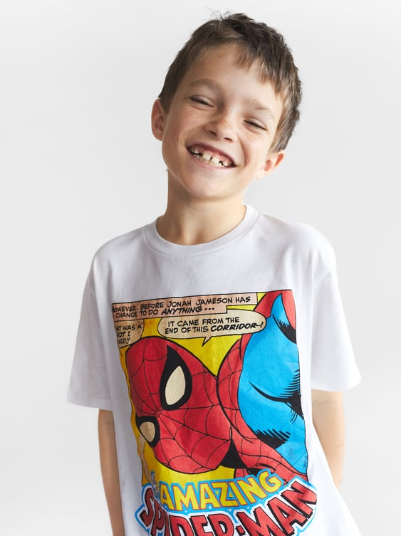 0faf556b SPIDERMAN T - SHIRT-Cartoons®-T-SHIRTS-BOY | 5-14 yrs-KIDS | ZARA ...