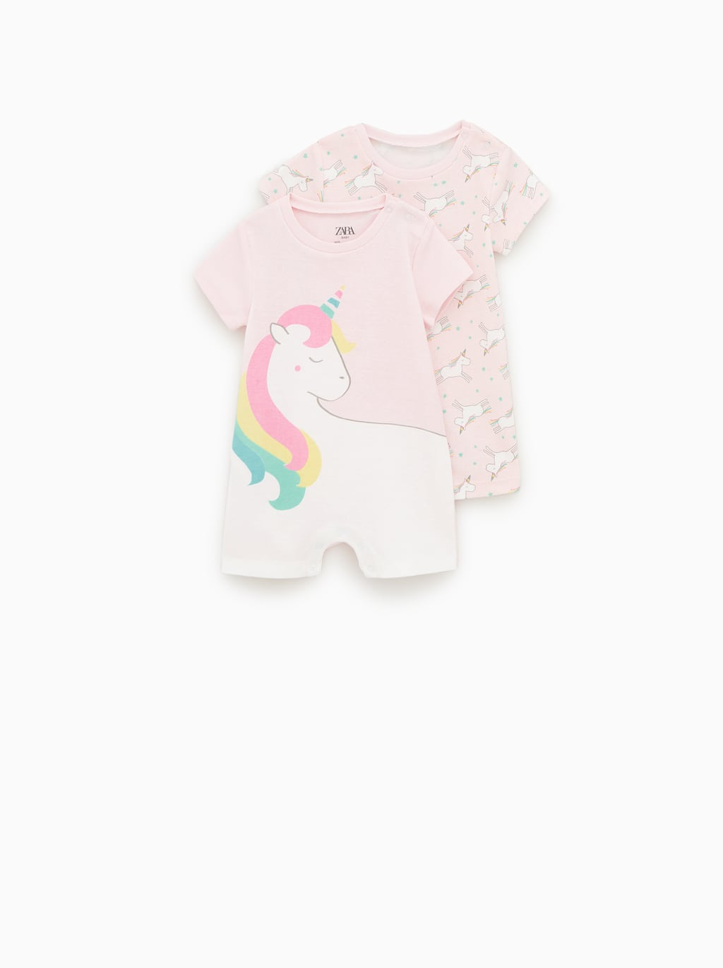 ab4163aa2 2-PACK OF UNICORN SLEEPSUITS-View All-UNDERWEAR AND PYJAMAS-BABY ...
