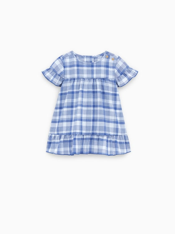 CHECK DRESS - DRESSES AND JUMPSUITS-BABY GIRL  20799f520457a