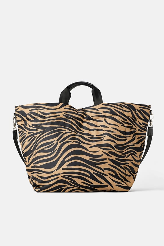 ca99e762bd ANIMAL PRINT QUILTED TOTE BAG - Available in more colours