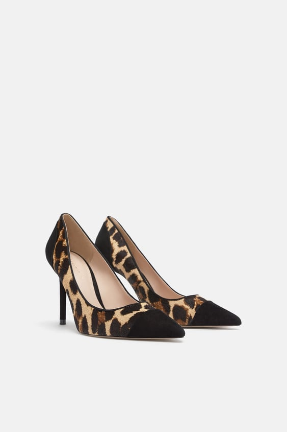 768440a98f78 ANIMAL PRINT LEATHER HIGH HEELED SHOES - - | ZARA United States