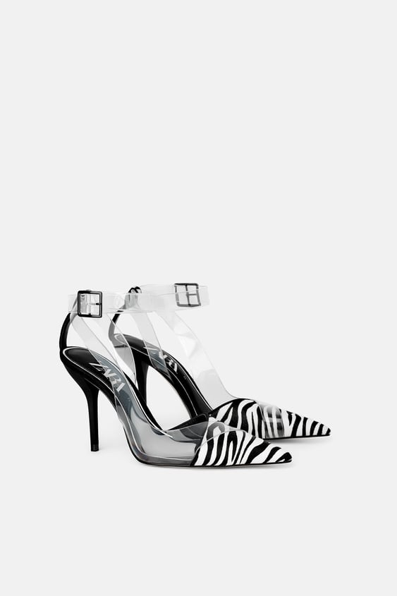 60ab71a7a1 ANIMAL PRINT VINYL HIGH HEELED SHOES - View All-DRESS TIME-WOMAN ...