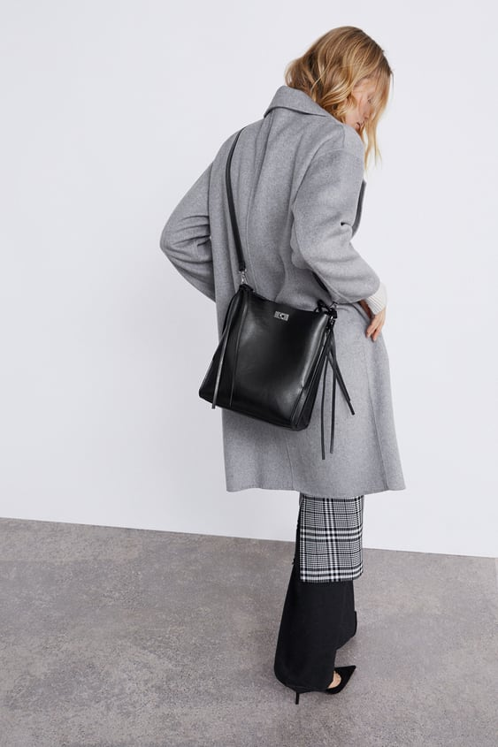 ff4614ca25 BUCKET BAG WITH RINGS ON THE HANDLE - BAGS-WOMAN-NEW COLLECTION ...