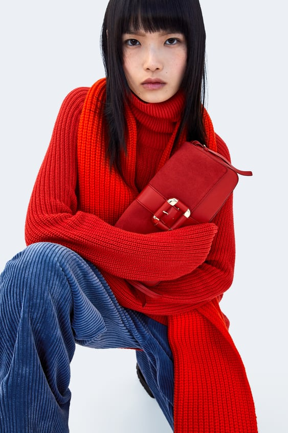 Crossbody Bag With Buckle  Bagswoman New Collection by Zara