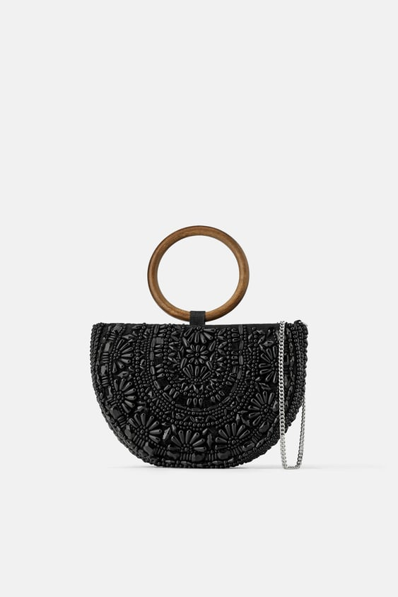 a0bcf63f9326 NATURAL BEADED OVAL CROSSBODY BAG - Available in more colours