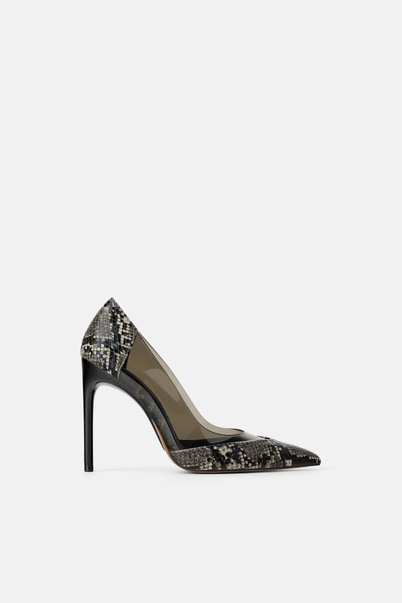 d677706fa5b VINYL ANIMAL PRINT HIGH HEEL SHOES - WEAR TO WORK-SHOP BY COLLECTION ...