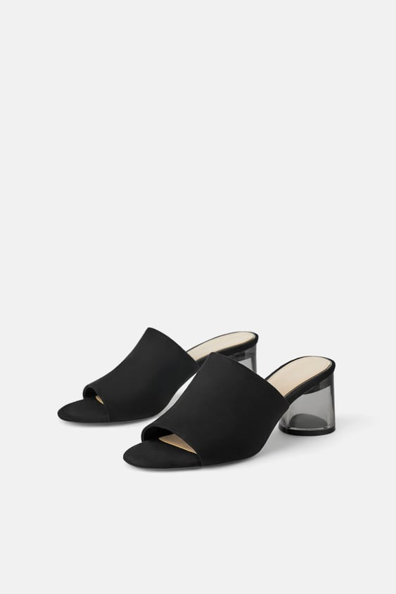 b389697c776 ZARA. MULES WITH METHACRYLATE HEEL VIEW ALLSHOES-WOMAN