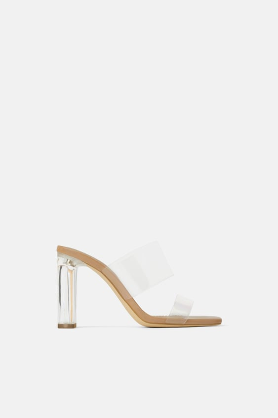 58943212308 vinyl-sandals-with-methacrylate-heels--shoeswoman-shoes bags by zara