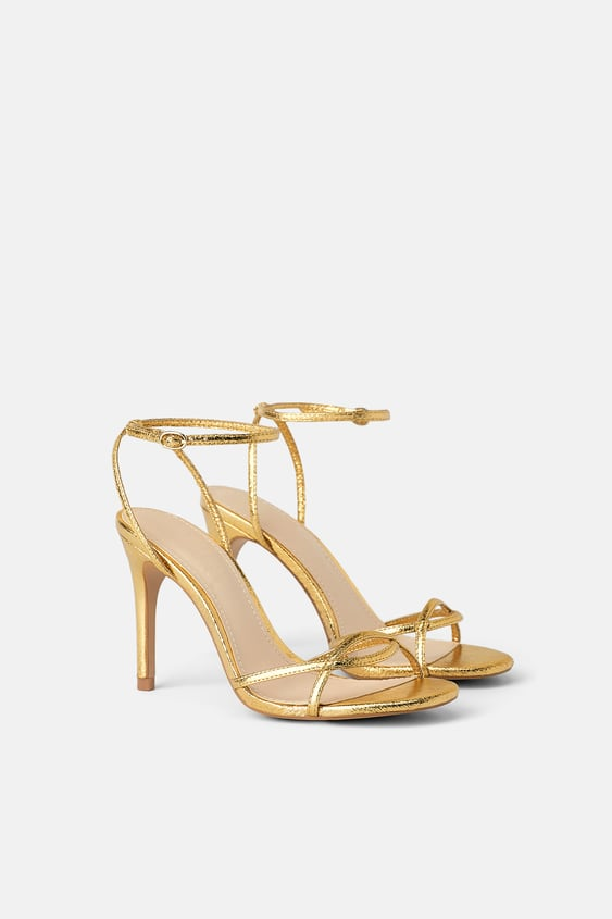 21102d71a HEELED SANDALS WITH THIN STRAPS - SHOES-SALE-WOMAN | ZARA United States