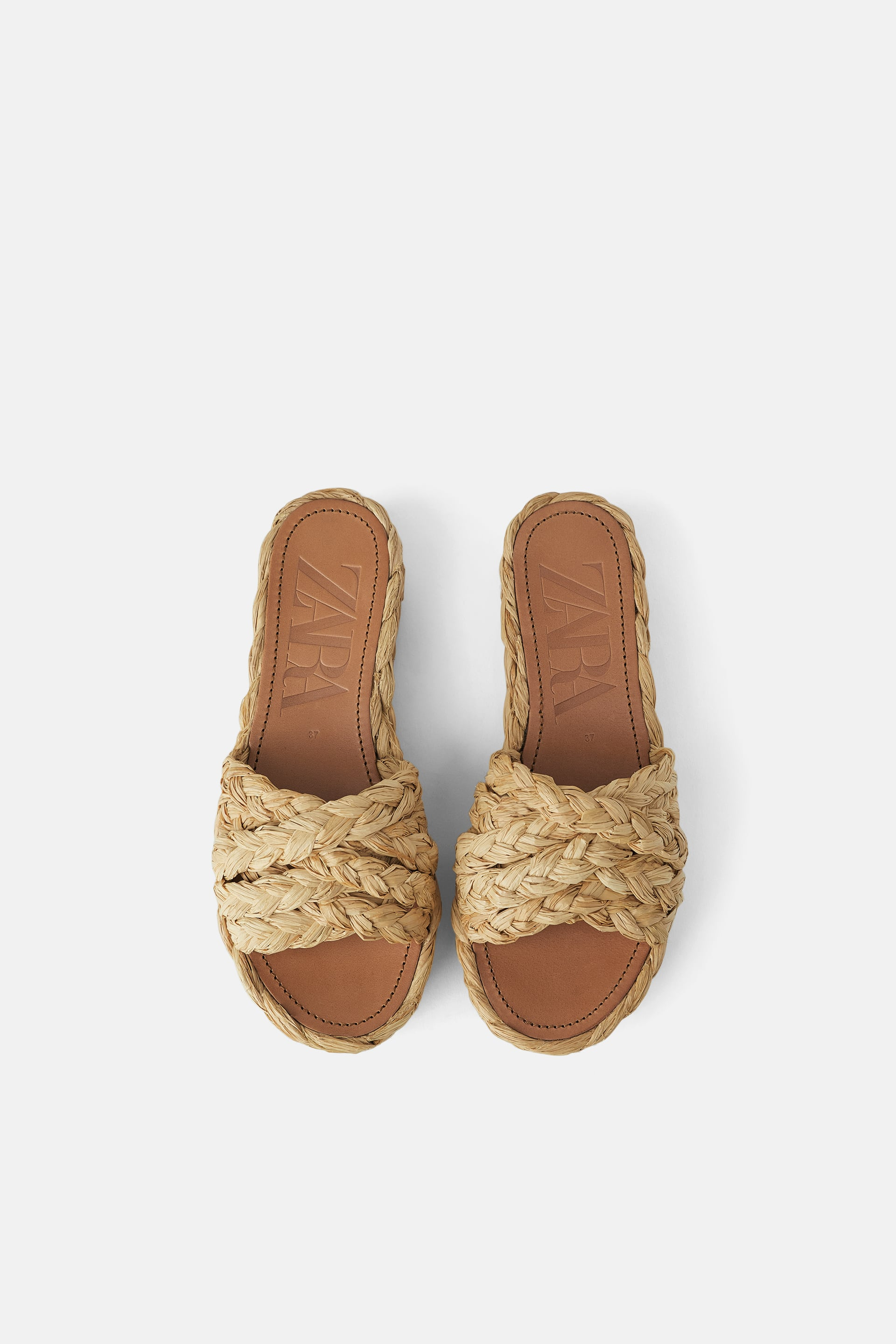 ac7bf0c5cb NATURAL RAFFIA PLATFORM WEDGES - MUM-WOMAN-CORNER SHOPS | ZARA Turkey