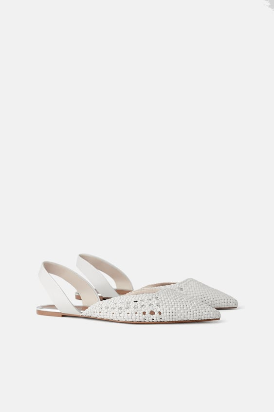 FLAT WOVEN SLINGBACKS - NEW IN-WOMAN