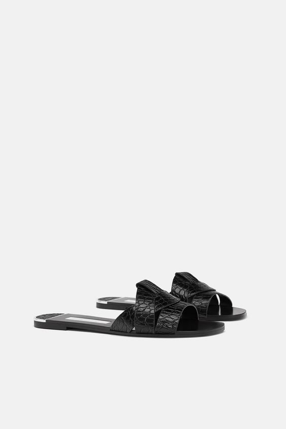 5530c92affb4 animal-embossed-leather-slides--shoeswoman by zara