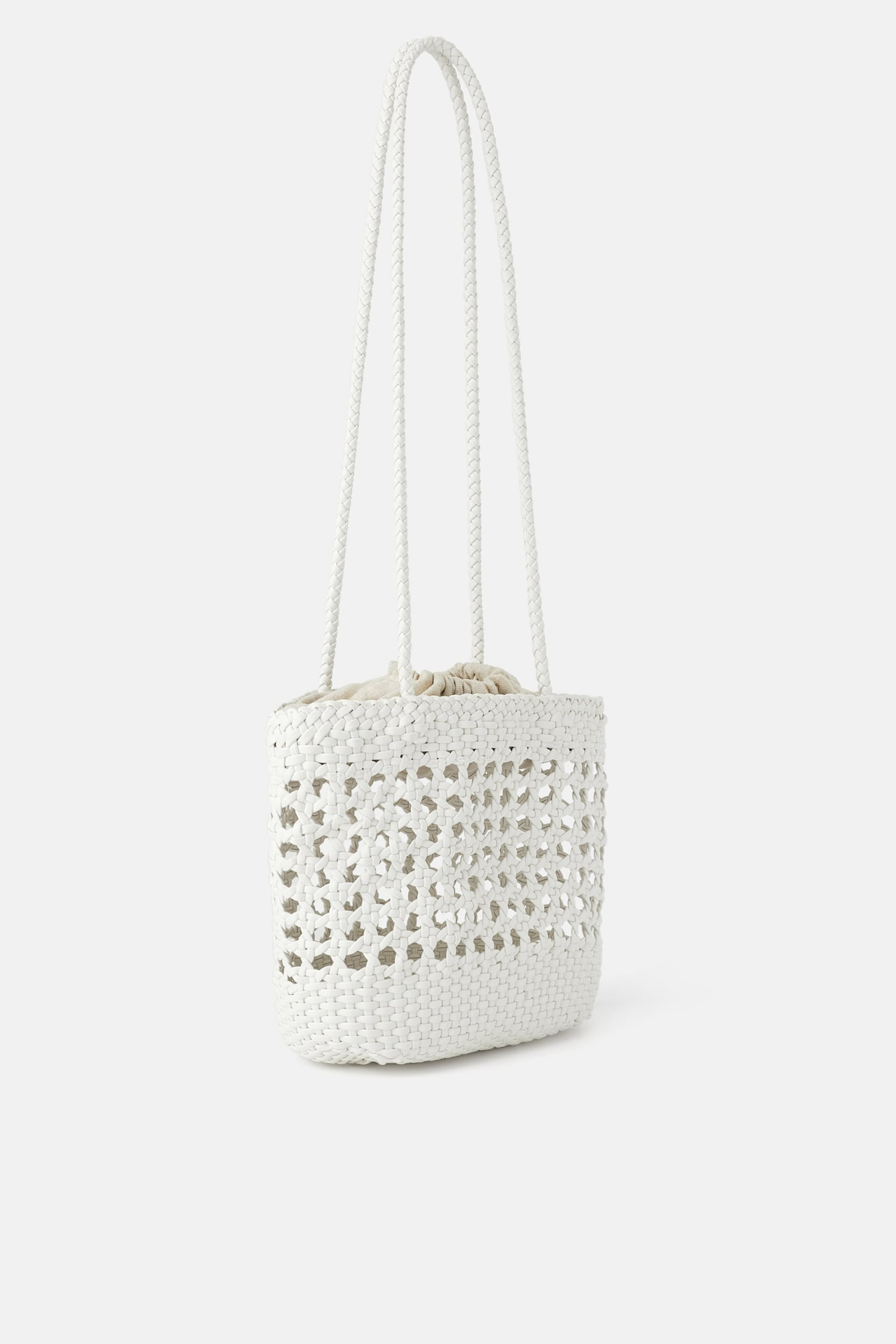 Image 1 of PLAITED TOTE BAG from Zara