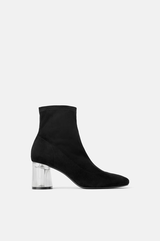 c0139d94f810 METHACRYLATE HEEL STRETCH ANKLE BOOTS - SPECIAL PRICES-WOMAN