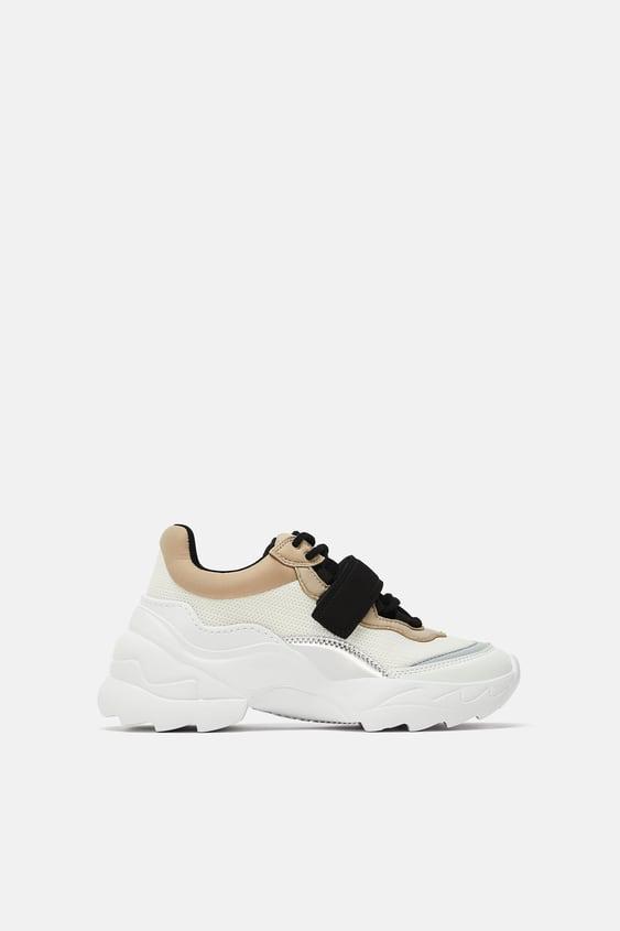 c69a4264eeedf Baskets et sneakers femme   Nouvelle Collection en ligne   ZARA France