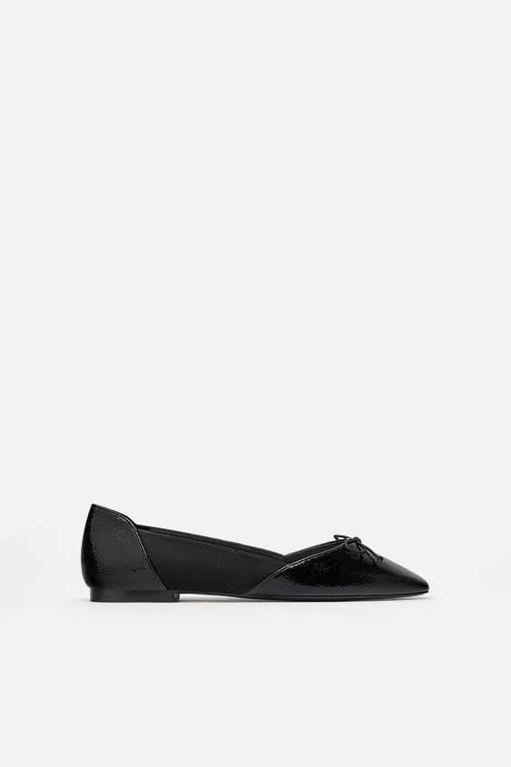 Ballerinas With Bow  New Intrf New Collection by Zara