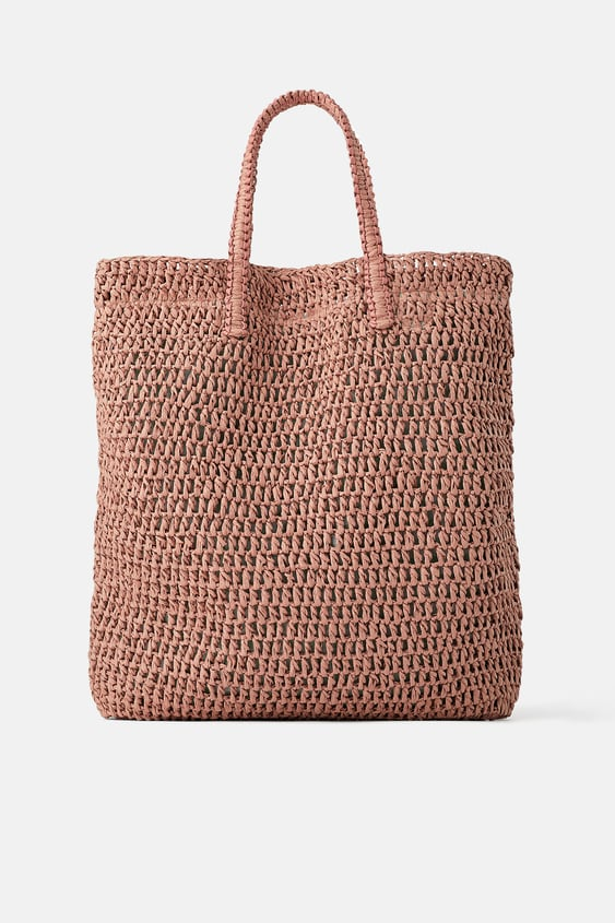 c5e314fec1 BRAIDED PAPER TOTE BAG - Available in more colours