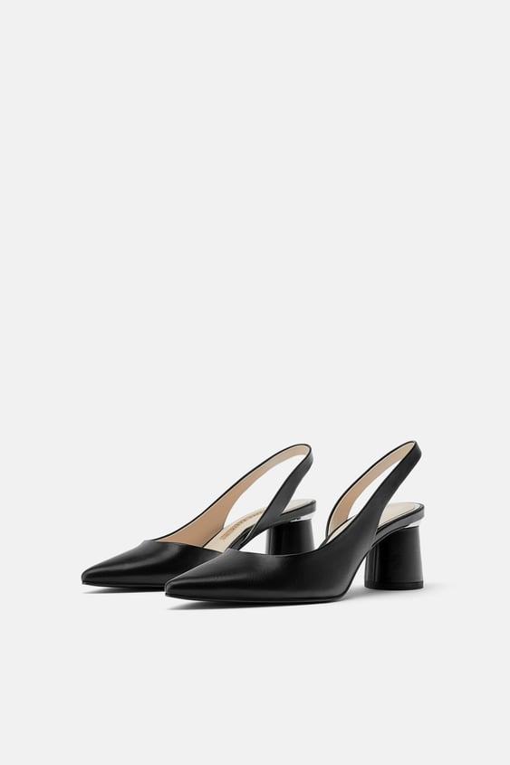 e876a3be6f PATENT SLINGBACK HEELS - View all-SHOES-WOMAN-SALE | ZARA United States