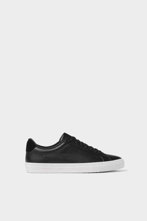 dc9353ab744 SORTE SNEAKERS I SKIND - View all-SKO-HERRE-NEW COLLECTION | ZARA ...
