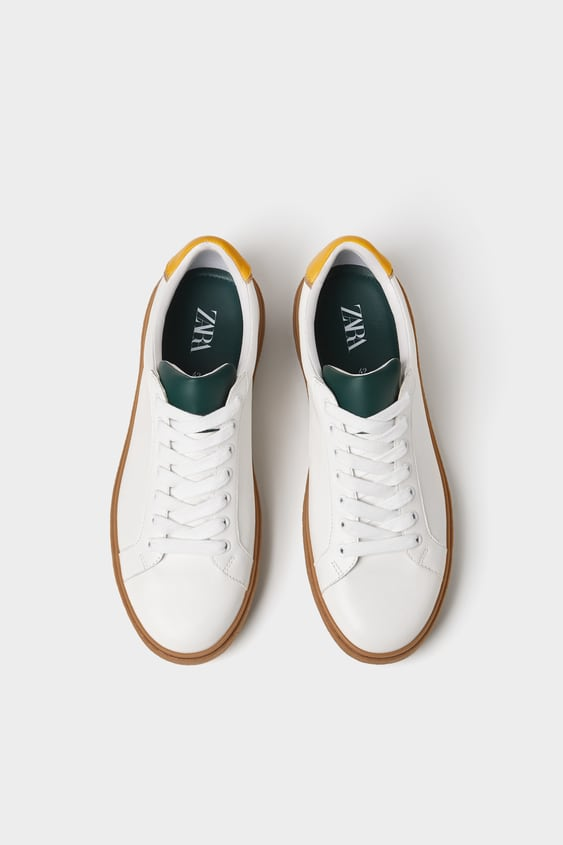 Contrasting Plimsolls View All Shoes Man by Zara
