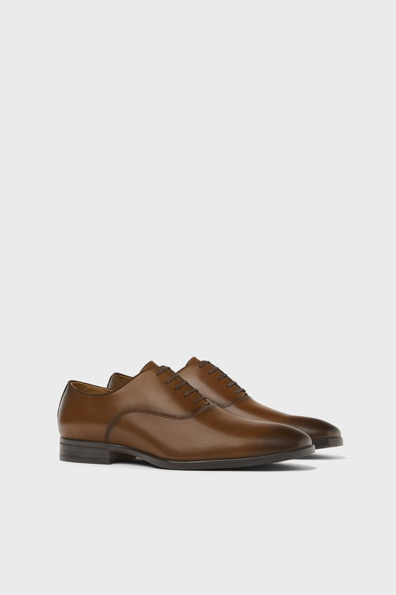 Smart Brown Shoes New In Shoes Man Zara South Africa
