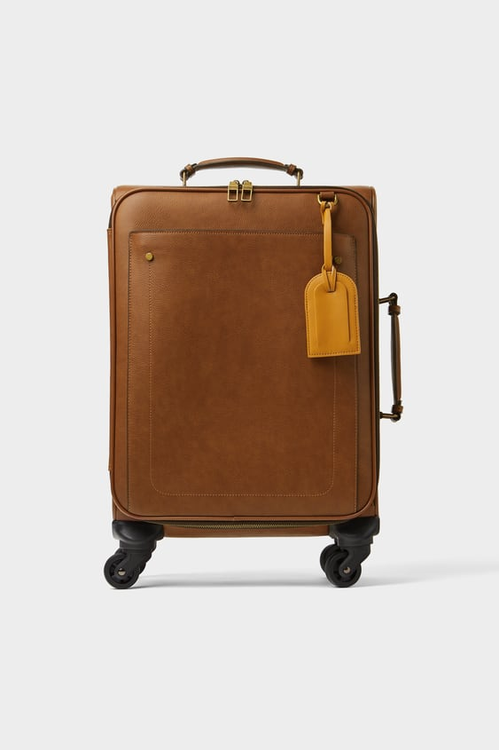 31f29f929d SUITCASE WITH COLOUR DETAIL - Available in more colours