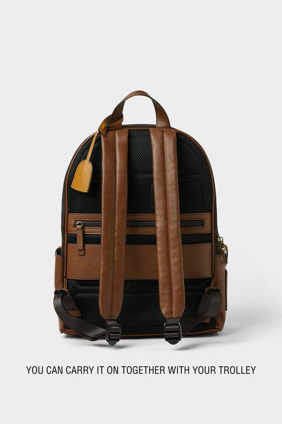 Men s Backpacks   New Collection Online   ZARA United Kingdom 48d62ba75e