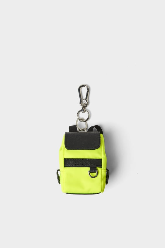 d04361624ba MINI BACKPACK ACCESSORY - Key rings and gadgets-BAGS AND BACKPACKS ...