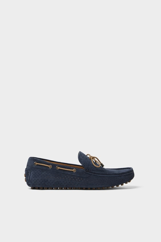 a525d87c29ec DIE-CUT LEATHER LOAFERS - Available in more colours
