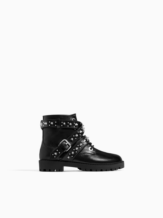 Studded Ankle Boots  Girlkids Shoes New Collection by Zara