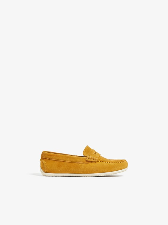 98533728846 SPLIT LEATHER MOCCASIN - Item available in more colors