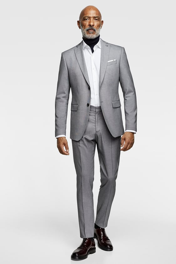 Mens Suits New Collection Online Zara Canada