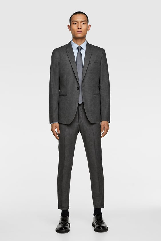 0802a74f TEXTURED WEAVE SUIT - Formal-SUITS-MAN | ZARA United States