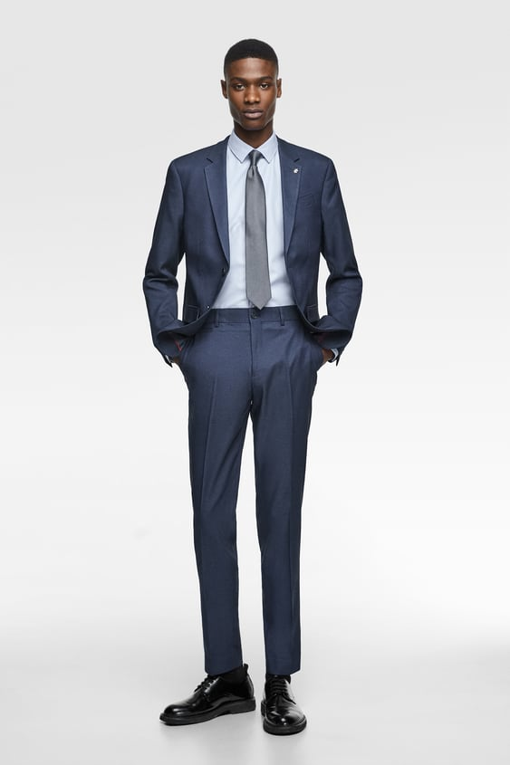 2a5cb190 COOLMAX® TEXTURED SUIT - Formal-SUITS-MAN | ZARA Spain