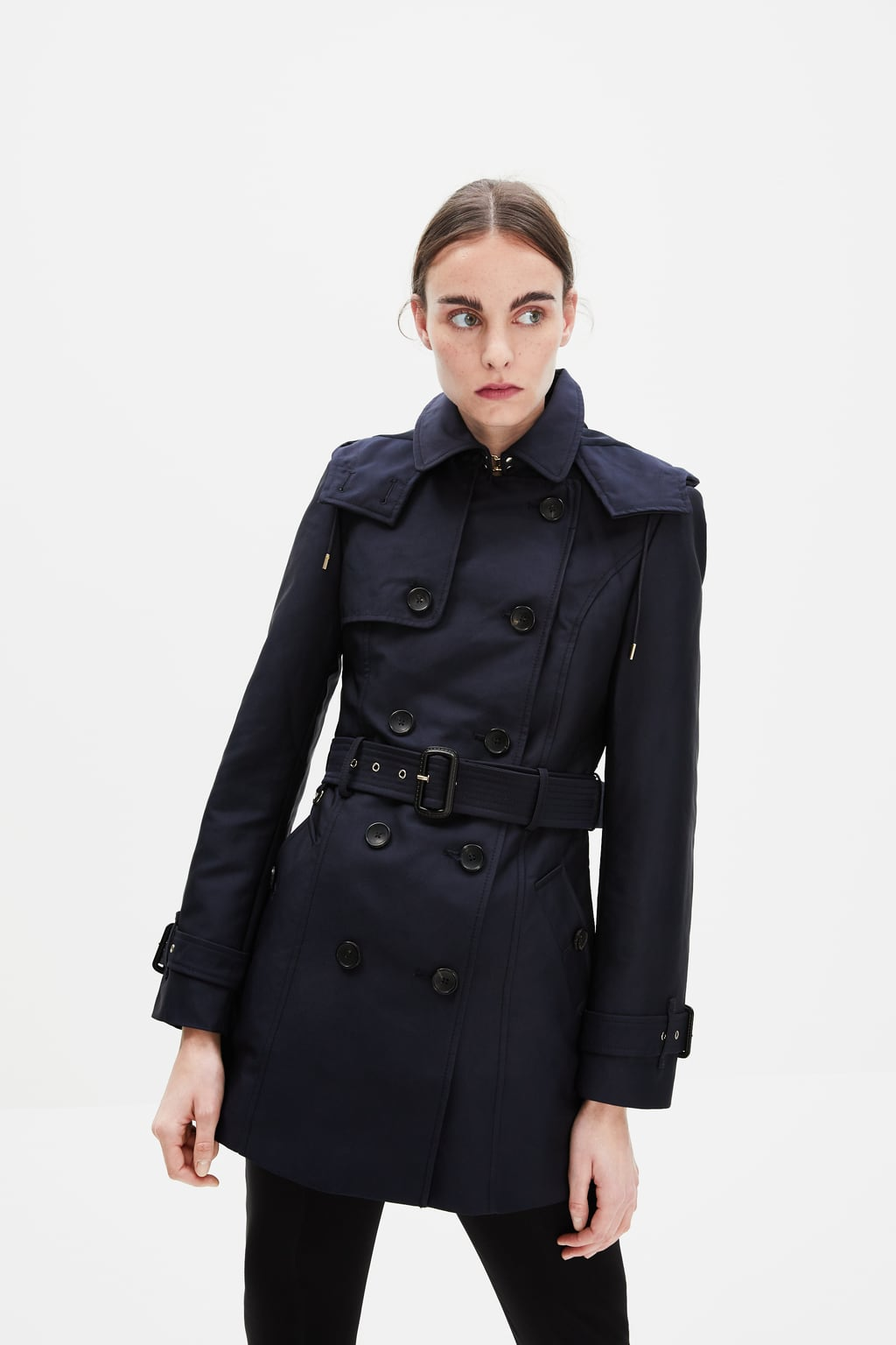 500c04df WATER-RESISTANT TAILORED TRENCH COAT-OUTERWEAR-WOMAN-SALE | ZARA ...