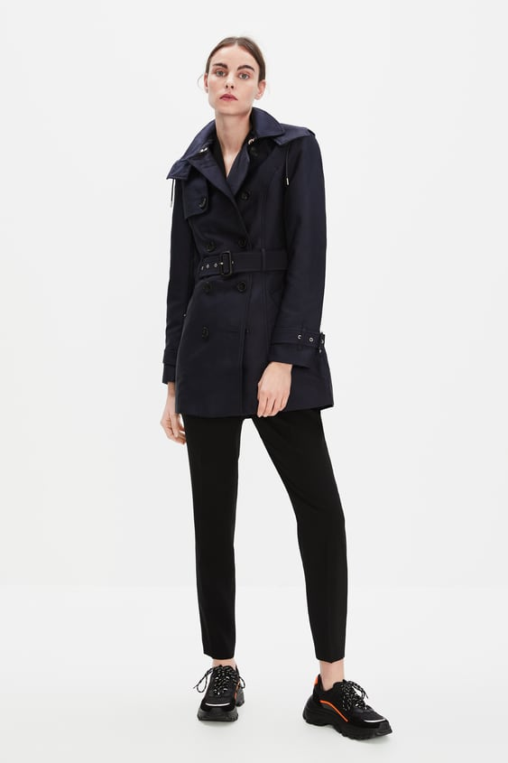 f7d88380 WATER - RESISTANT TAILORED TRENCH COAT-OUTERWEAR-WOMAN-SALE | ZARA ...