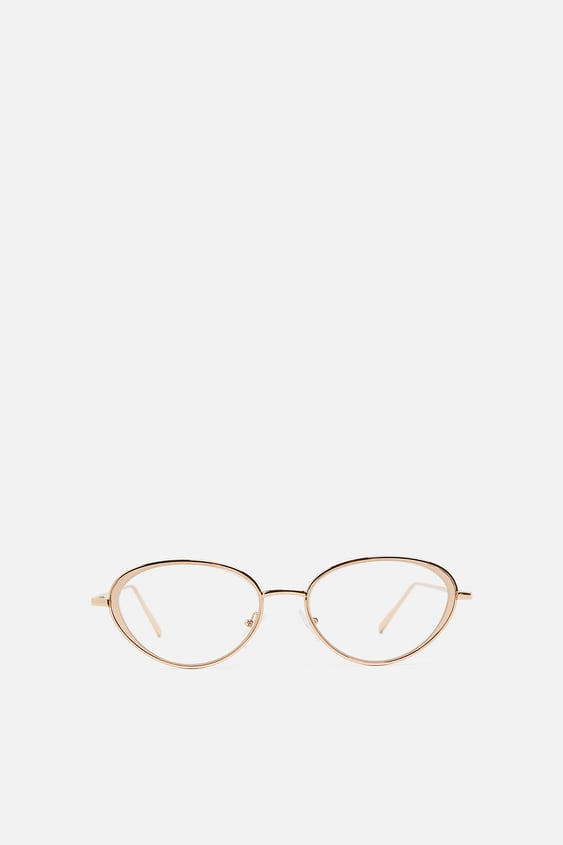 fafc69737bee METAL CAT EYE GLASSES - View All-ACCESSORIES-WOMAN-SALE | ZARA ...