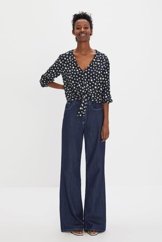 d9f8a04c95 Image 1 of KNOT SHIRT from Zara