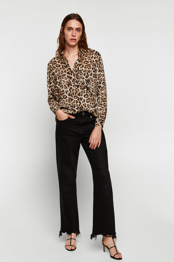 af260a69dd93 LEOPARD PRINT SHIRT - TOPS-WOMAN-SALE | ZARA South Africa