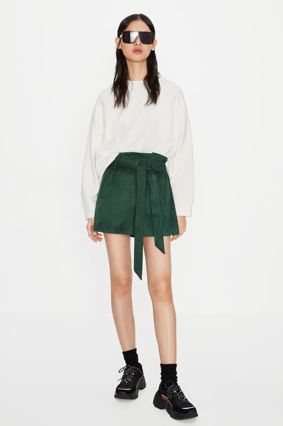 dda129c0 FAUX SUEDE SHORTS - Available in more colours