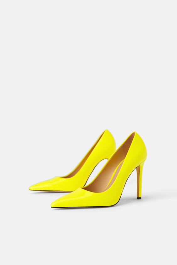 NEON HEELED SHOES - View all-SHOES-WOMAN