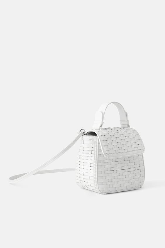 82103cacc62 WOVEN MINI CITY BAG - Mini Bags-BAGS-WOMAN | ZARA South Africa