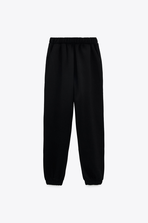 Image 1 of PLUSH JOGGING PANTS from Zara
