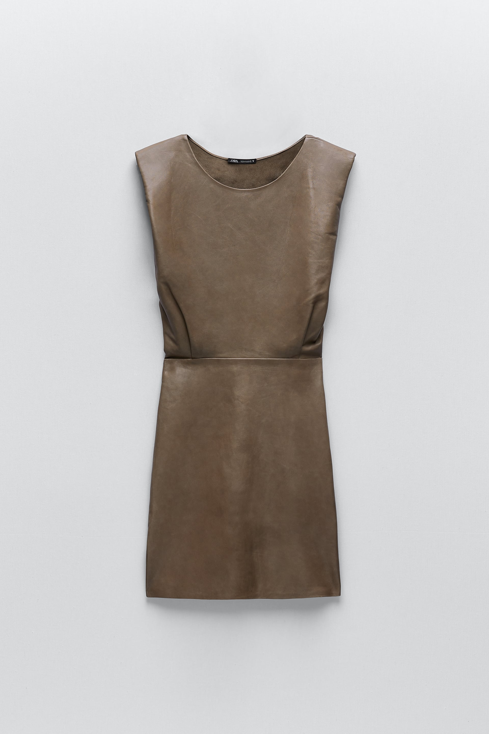 Image 3 of LEATHER DRESS from Zara