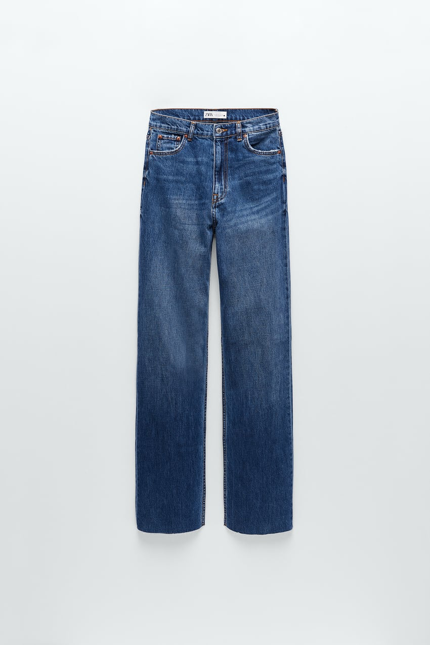 Image 3 of ZW PREMIUM '90S FULL LENGTH DOVER BLUE JEANS from Zara